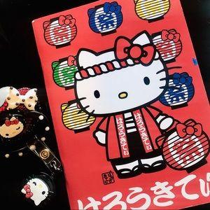 Custom Adult ABDL Pacifier Hello Kitty Bundle